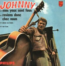 ☆ CD Single Johnny HALLYDAY Mes yeux sont fous EP REPLICA 4-TRACK 9796  ☆