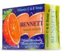 Bennett Whitening Natural Extracts Soap Anti Acne Vitamin C&E Beauty Skin