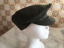 Vintage Barbour Waxed Cotton Flat Cap - New Old Stock (Nos!)