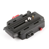 P200 Quick Release Clamp Adapter + Plate for Manfrotto 577 500 501 AH 701503 HDV