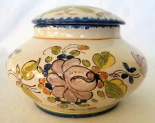 MARTRES-TOLOSANE FRENCH POTTERY BONBONNIERE,CONFECTIONERY JAR,TRINKET BOX BY RB
