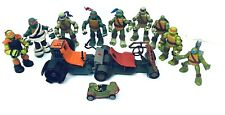 Tmnt Teenage Mutant Ninja Turtles Action Figures Auction - Lot of 12 Preowned