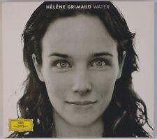 HELENE GRIMAUD: Water DGG Digipak Piano Berio, Liszt, Sawhney CD NM