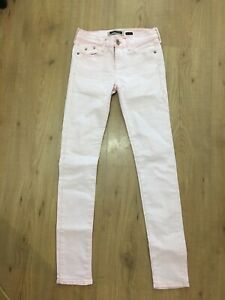 River Island Pink Skinny Jeans, Size 8/34, Good Condition