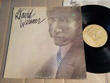David Werner-Imagination quota-LP-RCA-USA 1975-OIS