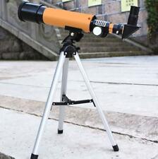 New 120x Refractive Astronomical HD Monocular Spotting Scope Telescope Tripod