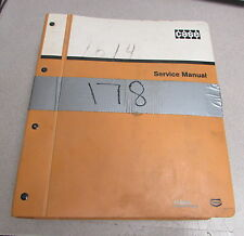 Case 888 Turntable Leveler Crawler Excavator Service Shop Repair Manual 1990