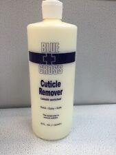 Blue Cross Cuticle Remover Manicure Pedicure Nails 32oz/ 946ml