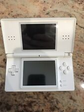 Nintendo DS Lite Handheld Console White & 4 games Excellent Condition See Notes