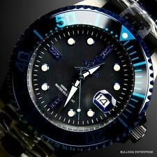 Invicta JT Jason Taylor Grand Diver Black Diamond Automatic MOP Watch + Case New