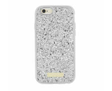 kate spade Glitter Case with Bumper for Apple iPhone 6/6s - Silver Glitter - UD
