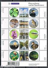 Nederland 3289-3298 2015 Flora en Fauna van het Naardermeer