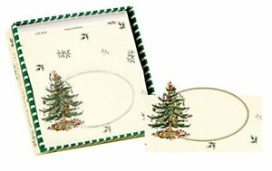 C.R. Gibson Deluxe Die-Cut Place Cards, Christmas Tree, Box of 10 (XCW-2021)