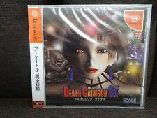 Death Crimson OX Sega Dreamcast Import JP US Seller NEW!