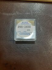Citizen ECO DRIVE mt920 a bottone 295-34 CONDENSATORE solar rechargeable