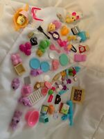 Vintage Lot of Barbie Doll Accessories House Food and Kitchen Pieces 75 Pieces