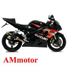 Exhaust Muffler Motorcycle Mivv Suzuki Gsx-R 600 2004 04 Gp Carbon
