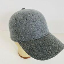 Banana Republic Novelty Baseball Wool Cap Hat Gray Grey Large Extra L / XL