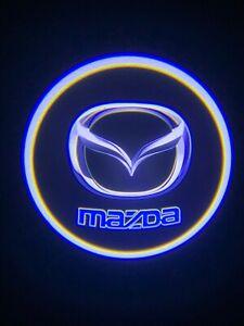 Mazda Logo Wireless LED Courtesy Car Door Ghost Shadow Projector Light US Seller