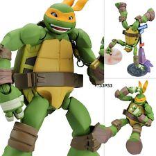 Revoltech TMNT Teenage Mutant Ninja Turtles Michelangelo PVC Action Figure Toy