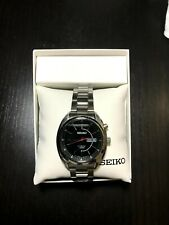 SEIKO KINETIC SMY119P2Black DIAL DAY DATE - with box and manual