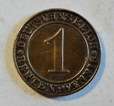 1 Rentenpfennig 1924 J - Weimarer Republik -  vz - stgl / xf - unc. selten / rar