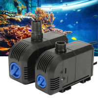 Submersible Water Pump Fish Pond Aquarium Feature Tank Waterfall Fountain *