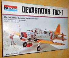 Alter 1:48 Monogram Bausatz ca.von 1975 Devastator TBD-I