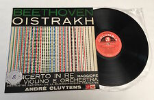 "RARE LP 12"" OISTRAKH BEETHOVEN VIOLIN CONCERTO OP 61 CLUYTENS STEREO SAXQ 7275"