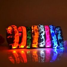 Leopard series LED pet collar