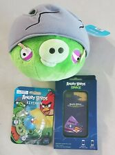 Angry Birds 5x5 stuffed plush, keychain, iphone 4 cover