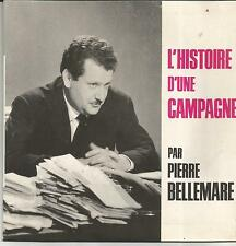 PIERRE BELLEMARE/RAYMOND GUIOT Histoire d'une campagne EP PUBLICITAIRE CADILLAC