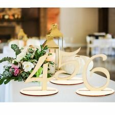Wooden Table Seat Cards Holder Rustic Wedding Birthday Party Table Decoration