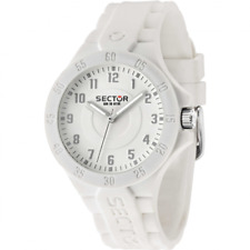 watch SECTOR mod. action steel ref. R3251586010 man woman time in rubber white