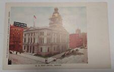 Vintage U. S. Post Office Denver Postcard - Hungarian Flour Mills (Un-Posted)