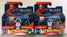 Marvel Minimates Walgreens Wave 7 KID ARACH & VULTURE SPIDER-MAN & SCORPION👍