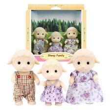 Sylvanian Families Dollhouse Sheep Family 3pcs Set Toy Doll Figures 5127 New