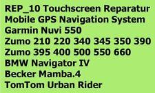 REP_10 Touchscreen Reparatur Garmin Zumo 2xx 34x 350 39x 396 4xx 5xx 660 Mamba.4
