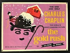 The Gold Rush Original Movie Poster Charlie Chaplin *Hollywood Posters*