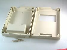 Electronic Hand Held Project Box ABS 145x90x33mm Cut Outs Screen/aerials OL0300
