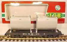 LGB 4086 WP&Y Flatcar w/Tank Load EX/Box