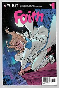 Faith #1 Valiant Comics 1st On-Going Series (07/2016) 1st Fatty Super Hero