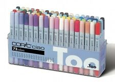 TOO Copic Ciao 72 colors Set A Premium Artist Markers Anime Comic New