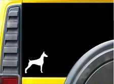 Doberman Sticker L401 6 inch pinscher rescue dog decal