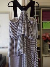 Comfortable LANE BRYANT Dress/Cover-up w/Elastic Bands/Ruffles-Size 22/24-$79