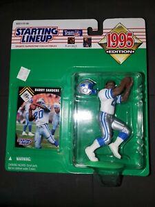 1995 Barry Sanders Starting Lineup- Oklahoma St Cowboys, Detroit Lions, HOF MINT