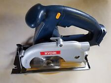 RIOBI 14.4 V CORDLESS CIRCULAR SAW BODY ONLY, NO BATTERY SLIDE ON BATTERY TYPE