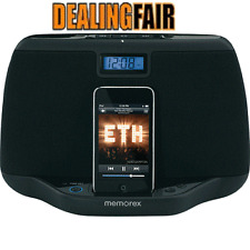 Memorex  iPod Speaker Dock System & Clock MI3021 Brand New Factory Sealed!!