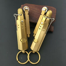 Solid Brass Trench Lighter Replica  WWI WWII Cigarette Oil lighter