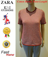 Fitted Petite Cotton Blend Short Sleeve Women's Tops & Shirts
